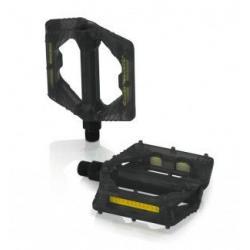 Pédales XLC polycarbonate vtt bmx PD-M16 noir