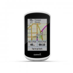 Compteur GPS vélo GARMIN Edge Explore - Blanc/décor noir