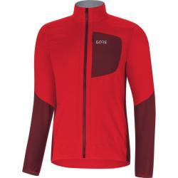 Veste thermique GORE hiver C5 Windstopper Insulated rouge décor bordeaux