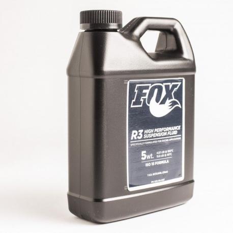 Huile de fourche FOX-R-SHOX et amortisseur SuspensionFluid R3 5wt 250