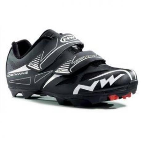 Chaussures NORTHWAVE vtt Spike Evo noir décor blanc