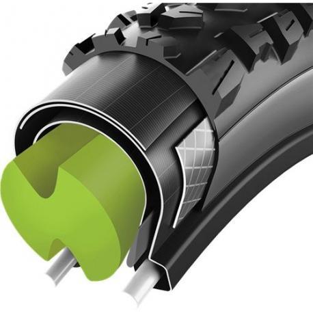 Bande antipincement VITTORIA mousse haute densité Air Liner M verte