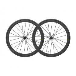 Roues à pneu 700 MAVIC route Ksyrium Pro Carbon SL UST Disc ID360 SH 28 noire