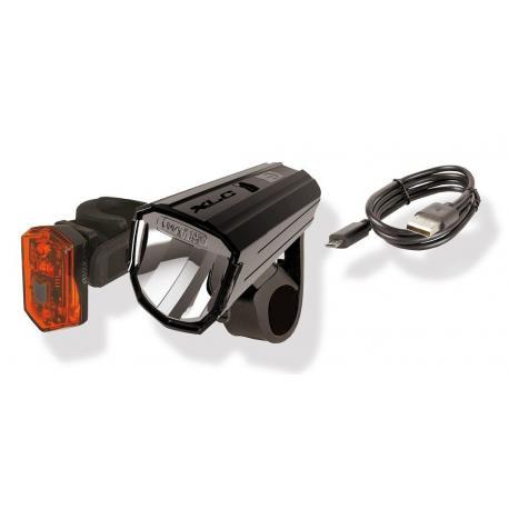 Eclairage av+ar XLC usb Comp Alderaan CL-S17 noir