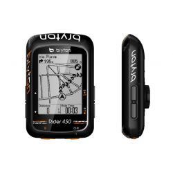 Compteur GPS vélo BRYTON Rider 450 - Noir